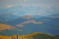 Schöne Landschaften der Berge eingelassen dem Apennines, Italien stockfoto