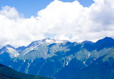 Schöne Landschaftsberge in Russland Lizenzfreie Stockfotos