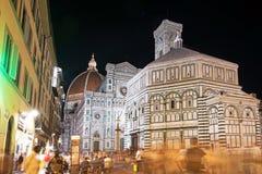 Schöne Landschaftsfabelhafte Ansicht von berühmter Florence Duomo Cathe lizenzfreies stockbild