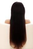 Schöne lange Haare lizenzfreies stockbild
