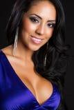 Schöne lateinamerikanische Frau stockfoto