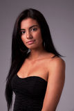 Schöne lateinische Frau lizenzfreie stockfotos