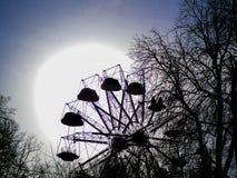 Schöne Luna Park in Belgrad kalemegdan Stockfotografie