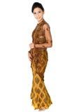 Schöne malaysische Frau stockbild