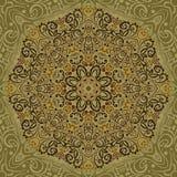 Schöne Mandala Background Stock Abbildung