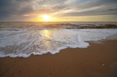 Schöne Meerblicknatur Stockfotos