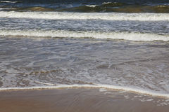 Schöne Meereswellen Stockbild