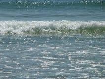 Schöne Meereswogen stockbild