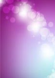 Schöne mehrfarbige Hintergrund bokeh Illustration Stockbilder