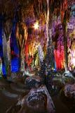 Schöne mehrschichtige Karsthöhle Lizenzfreie Stockfotografie