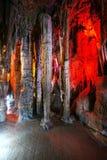 Schöne mehrschichtige Karsthöhle Lizenzfreies Stockbild