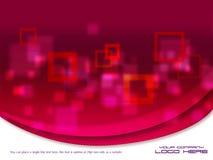 Schöne moderne grafische Auslegung Schablone Lizenzfreies Stockbild