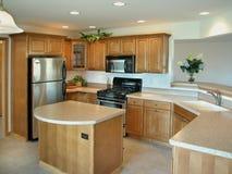 Schöne moderne Küche Stockbilder