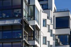 Schöne moderne Wohnungen in Schweden Lizenzfreie Stockfotografie