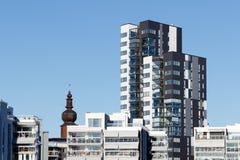 Schöne moderne Wohnungen in Schweden Stockfotos