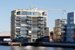 Schöne moderne Wohnungen in Schweden 2016 Lizenzfreie Stockbilder