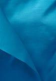Schöne modische blaue Seide Stockfotografie