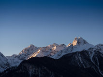 Schöne Morgenatmosphäre Stockfotografie