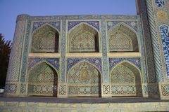 Schöne Moschee in Bukhara Usbekistan Zentralasien stockbilder