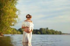 Schöne Mutterschaft Stockbilder