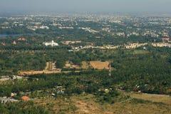 Schöne Mysore-Landschaftsszene stockbilder