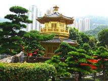 Schöne Nan Lian Garden Temple Lizenzfreie Stockfotografie