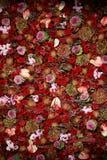 Schöne natürliche Blumen-Wand-Beschaffenheit lizenzfreies stockfoto