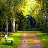 Schöne Natur im Park stockfotos