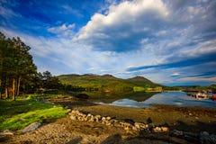Schöne Natur Norwegen Stockbild