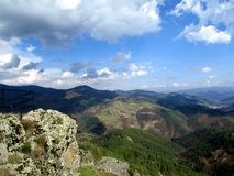 Schöne Natur in Smolyan-Bereich Stockbild