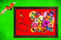 Schöne Natur Wold-Kunstzusammenfassung Lizenzfreies Stockbild