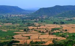 Schöne Naturlandschaft, vindhya Berg, chitrakoot, Indien Lizenzfreies Stockfoto