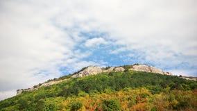 Schöne Naturpanoramaberglandschaft Lizenzfreies Stockfoto
