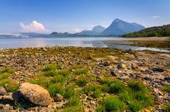 Schöne norwegische Landschaft Stockbild