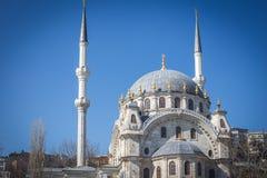 Schöne Nusretiye-Moschee, Istanbul, die Türkei Lizenzfreie Stockbilder