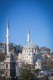 Schöne Nusretiye-Moschee, Istanbul, die Türkei Lizenzfreies Stockfoto