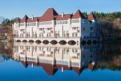Schöne old-styled Villa Stockbild