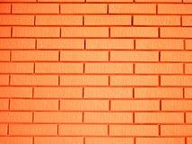 Schöne orange Ziegelsteine Stockfotos