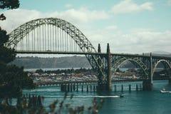 Schöne Oregon-Brücke Lizenzfreies Stockbild