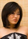 Schöne orientalische Frau Stockfotos