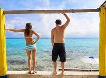 Schöne Ozean-Ansicht Lizenzfreie Stockfotos