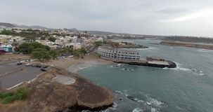 Schöne Ozeanansicht stock video