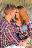 Schöne Paare Lizenzfreie Stockfotografie