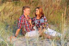 Schöne Paare Stockfoto