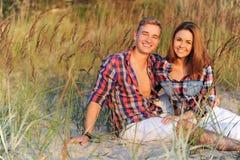Schöne Paare Stockfotografie