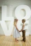 Schöne Paare - Liebeshintergrund Lizenzfreie Stockfotos