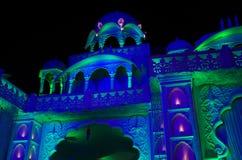 Schöne Palast-Beleuchtung-II Stockfotografie