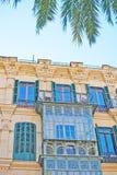 Schöne Palma-Fassade Stockbild