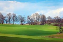 Schöne polnische Landschaft Stockbild