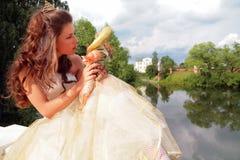 Schöne Prinzessin Stockfotos